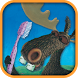 Moose brushing his teeth by WorldOfMoose