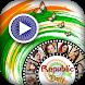 Republic Day Video Maker 2018 -26 Jan Video Editor by Silver Stone Studio