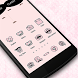 Pink Mustache Theme Icon Pack by xvioletroses