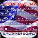 American Flag Emoji Keyboard by Cailin Apps Editor