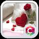 Romantic Love Red Heart Theme by Pop Locker Team - Hide Secret App