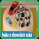 bake a chocolate cake by JodiStudio
