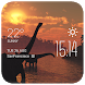 Bow shark weather widget/clock by Widget Dev Studio