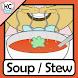 KC Black Eyed Pea Squash Soup by Kitchen Cat