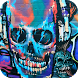 Rock Skull Graffiti theme 3D by Best Custom Theme