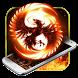 Fire Phoenix Keyboard Theme by Keyboard Theme Factory