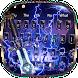 3D Lightning Sword Keyboard by Super Cool Keyboard Theme