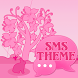 Animal Theme Pink GO SMS Pro by Workshop Theme