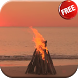 Bonfire on the beach LWP HD by CharlyK LWP