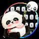 Cute Panda Baby Keyboard Theme by Theme Creative Center