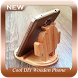 Cool DIY Wooden Phone Stand by Chiron Studio