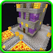 Find Button Halloween Edition map for Minecraft PE by Indiegamie