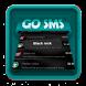 Black rock SMS Art by Pixel Themes