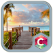 Beach Sunset C Launcher Theme by Party Fusion Games