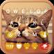Cute Kitty Emoji Keyboard Theme Wallpaper by Keyboard themes