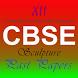 12th cbse Sculpture past paper by Mindwave