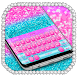 Glitter Paradise Keyboard Theme by Input theme