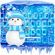 Ice Frozen Keyboard Theme by Theme Creative Center