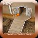 Creative Chicken Coop Decorations by Chiron Studio