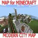 Modern City map for Minecraft by KaliLaska
