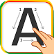 Trace & Learn ABC-123 4 kids by Greensparkers