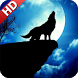 Wolf Moon Wallpaper by UniverseWallpapers