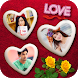 Love Photo Frames Collage