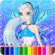 How To Color Winx Club game