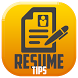 Smart Resume Tips by SmxGold