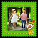Funny Kids Photo Frames by Mita and Mina Photo Studio