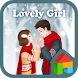 lovely girl couple dodol theme by iconnect for Phone themeshop