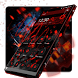 Black Red Cubic Technology by BeautifyStudio