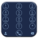 Dialer Circle Blue Theme by Luklek