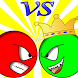 Red Ball vs King by Red ball vs King