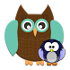 Photo Decorate Owl Stickers 1 by vittee