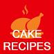 Cake Recipes - Offline Recipe of Cake by Quotes