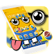 Yellow Cute Cartoon Theme by Luxury Mobile Themes