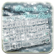 Silver diamond panda keyboard by Echo Keyboard Theme