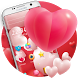 Valentine Sweet Pink Theme by Themes for Android Free