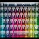 Glass Rainbow Emoji Keyboard by Themes Dialer and Keyboard