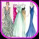 Dress Fashion Sketch Design by Shezee Studio