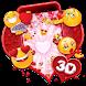 3D Valentine Love Emoji Theme by no.1 3D Theme