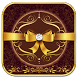Golden Bow Elegant Theme by Launcher Fantasy