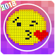 Color by Number 2018: Pixel Art - Coloring Book 18 by Creative Start