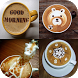 Beautiful Coffee Art Ideas by Easy Style Design App