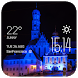 Augsburg weather widget/clock by Widget Dev Studio