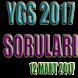 YGS 2017 Soru ve Cevapları by Oter