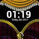 Curtain Zipper Lock Screen by RP infosoft