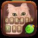 Cat Go Keyboard Theme by Keyboard Fashion New