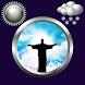 Jesus Clock & Weather Widget by Compass Clock and Weather